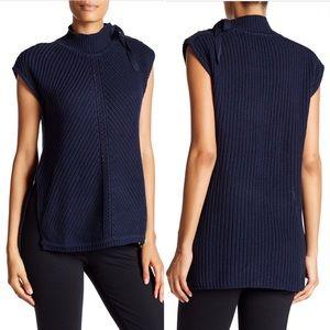 Jessica Simpson Navy Sky Captain Sweater sz S